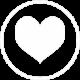 Coeur blanc sfb