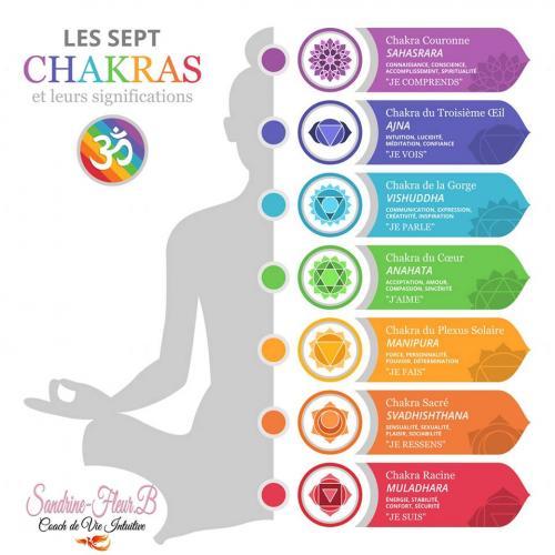 Reequilibrage des 7 chakras par sandrine fleur b