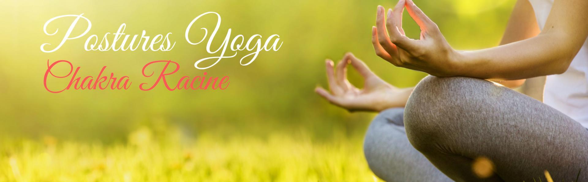 Postures yoga chakra racine sandrine fleur b